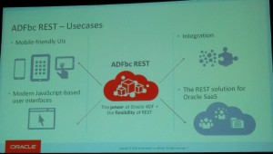 ADFbc REST Use Cases